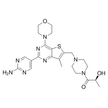 Apitolisib (Synonyms: GDC-0980; GNE 390; RG 7422)