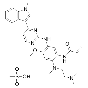 AZD9291 Mesylate