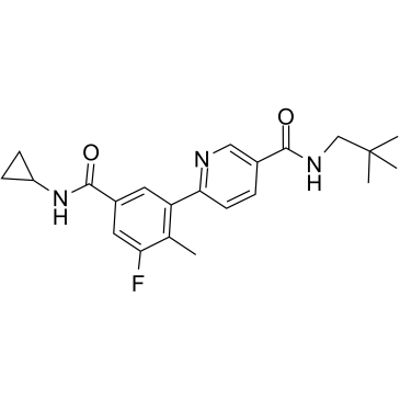 Losmapimod (GSK-AHAB; GW856553X; SB856553)