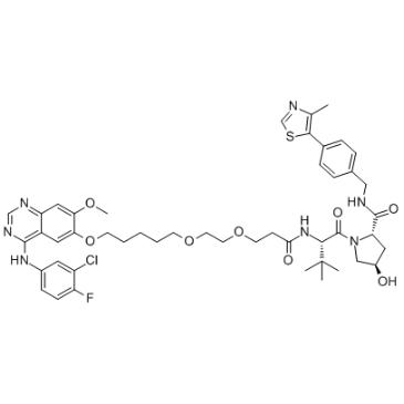 Gefitinib-based PROTAC 3